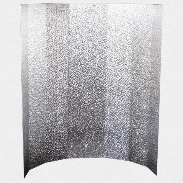 Reflektorkappe Hammerschlag 40 x 50 cm