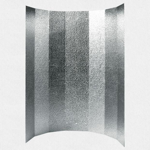 Reflektorkappe  Hammerschlag 50 x 50 cm