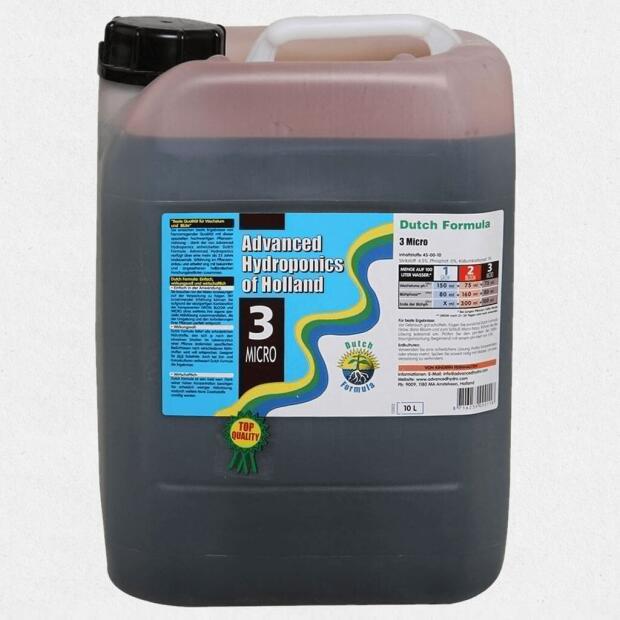 Advanced Hydroponics MICRO 10 Liter