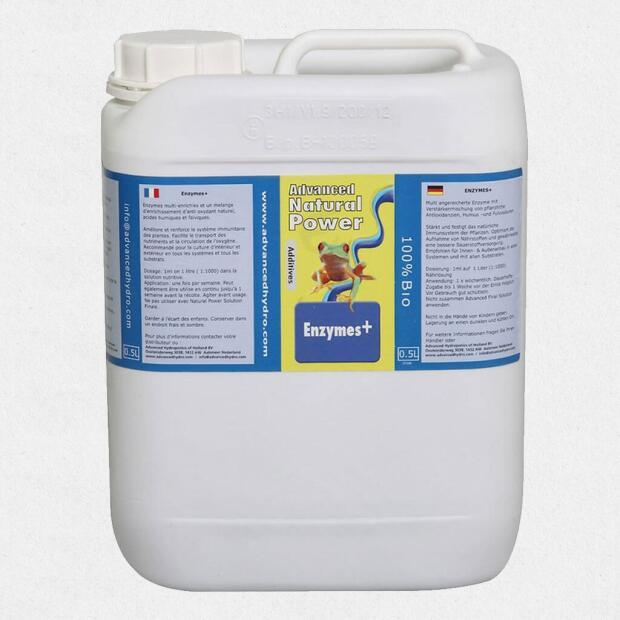 Advanced Hydroponics Enzymes plus 5 Liter