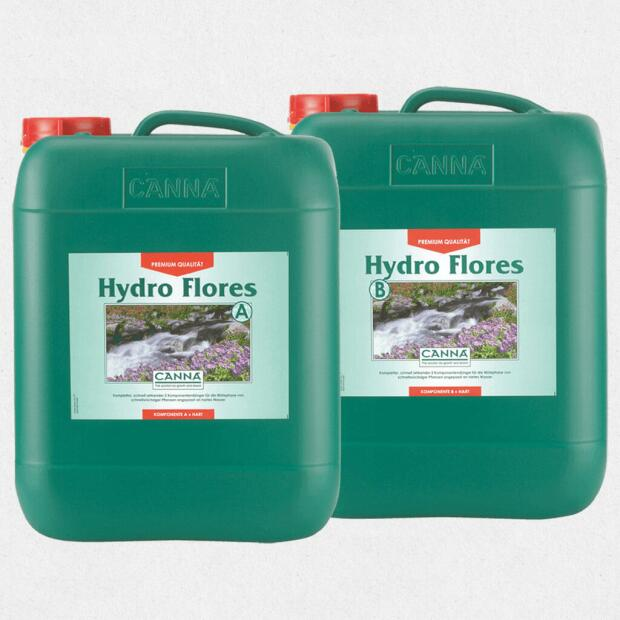 CANNA Hydro Flores A+B (Hart) 10 Liter