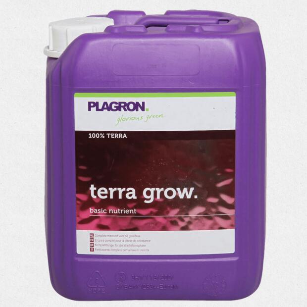 Plagron Terra Grow für Erde 5 Liter