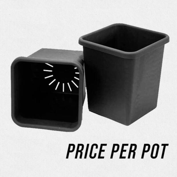 AutoPot Topf schwarz 15 Liter