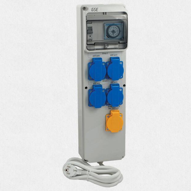 GSE Timer Box III 4 x 600W + Heizung